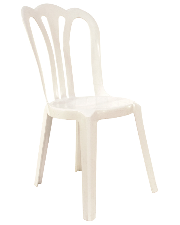 chair white plastic