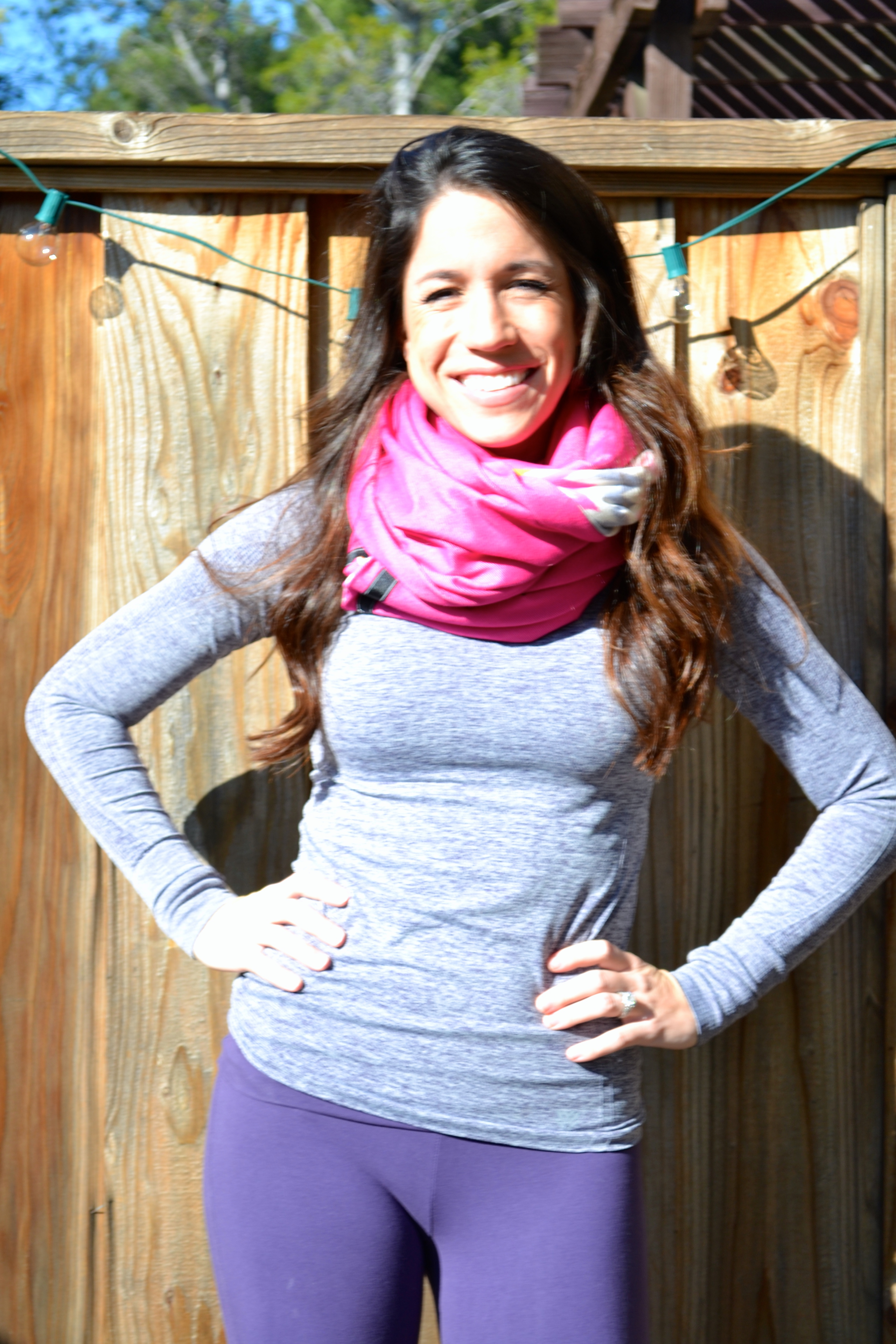 DIY Infinity Scarf - The Lululemon Vinyasa Scarf for Less - Miss ...