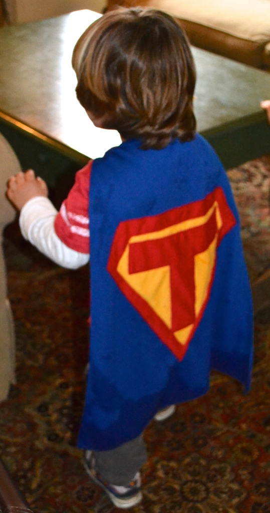 How To Make A Superhero Cape For A Toddler Miss Bizi Bee