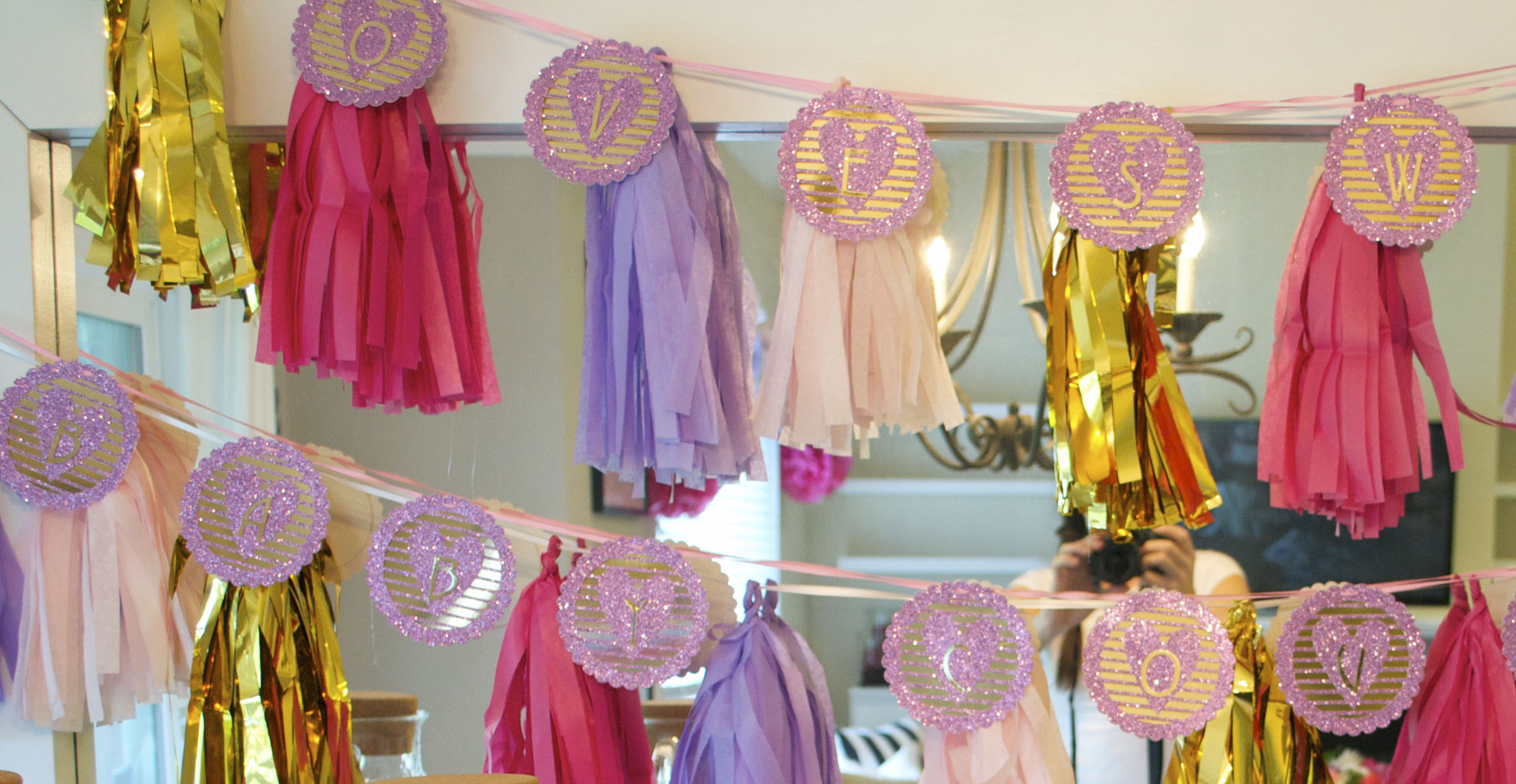 diy decor for the bride to be a personalized bachelorette party
