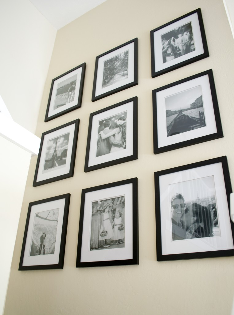 how to create a gallery wall of pictures