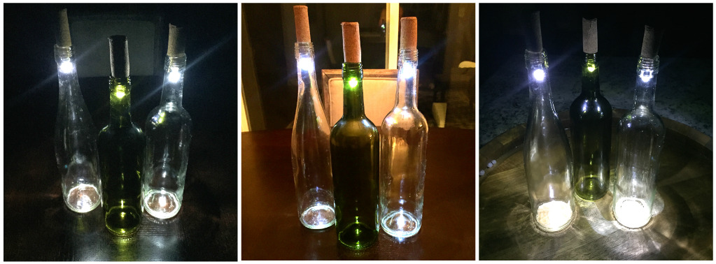 Diy wine bottle lights a unique way to upcycle empty for What to make with empty wine bottles