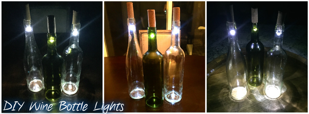 Diy wine bottle lights a unique way to upcycle empty for How to make wine bottle lights