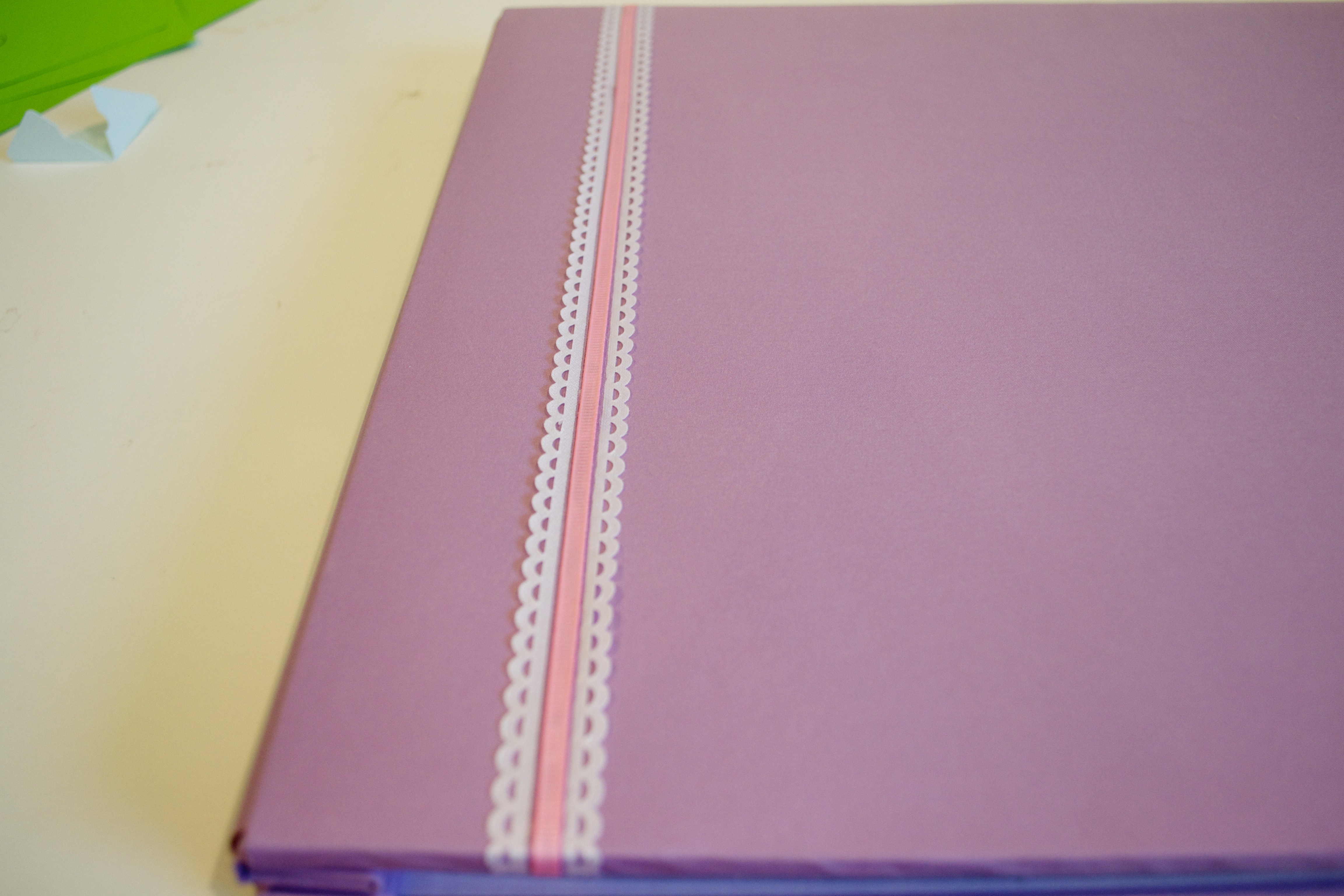 Scrapbook ideas step by step - Finally You Re Almost Done If You Have An Album With A Picture Pocket In The Front Make Something Cute Like A Monogram To Place Inside And