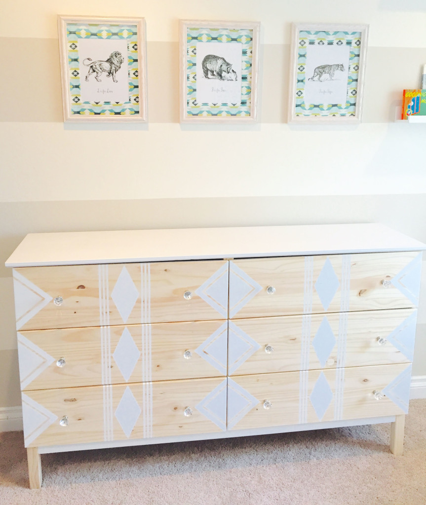 Easy Ikea Hack Fun Painted Dresser Miss Bizi Bee