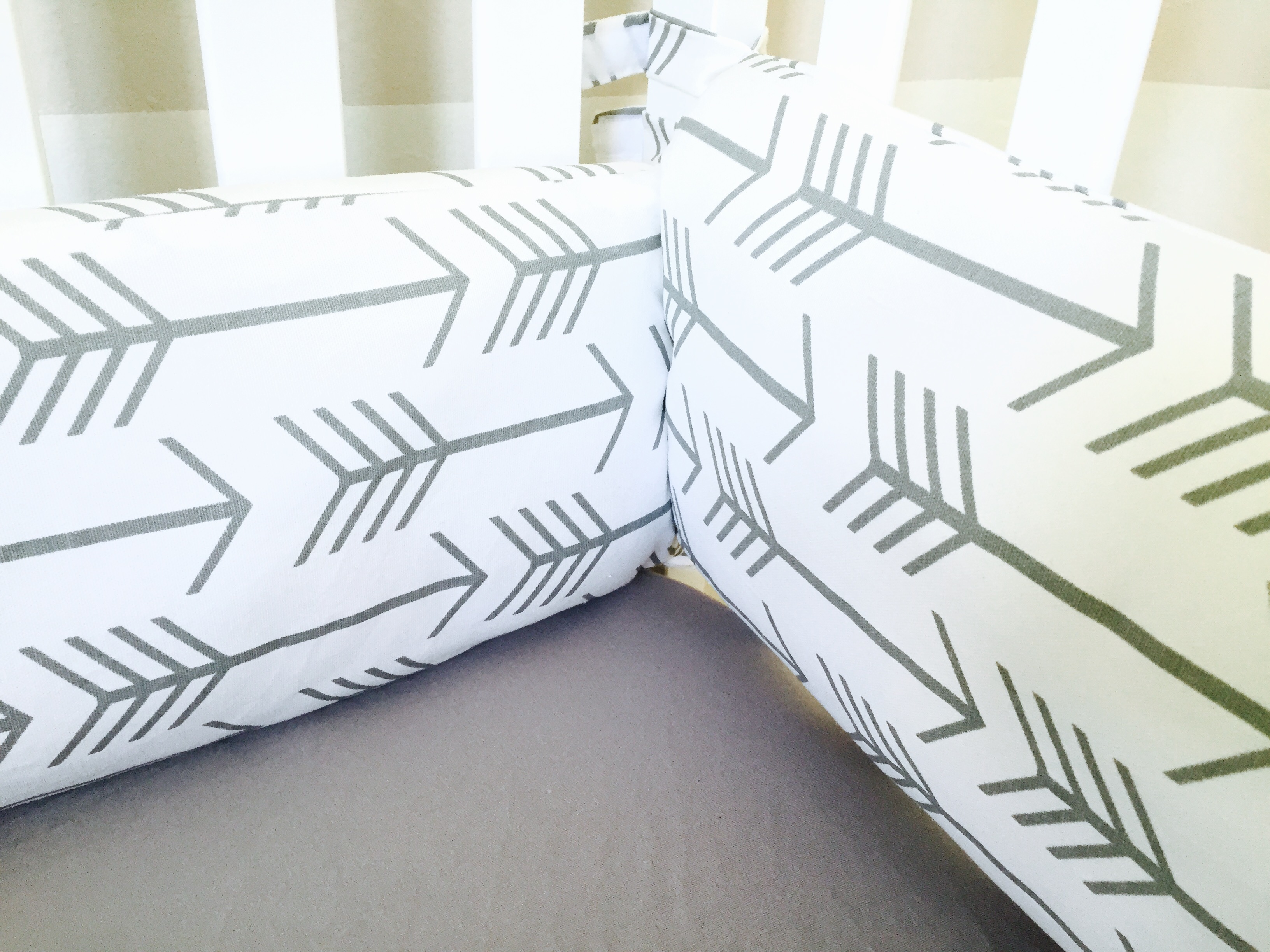shipping cushion bumper pillow braided bumpers crib knot il bolster listing fullxfull
