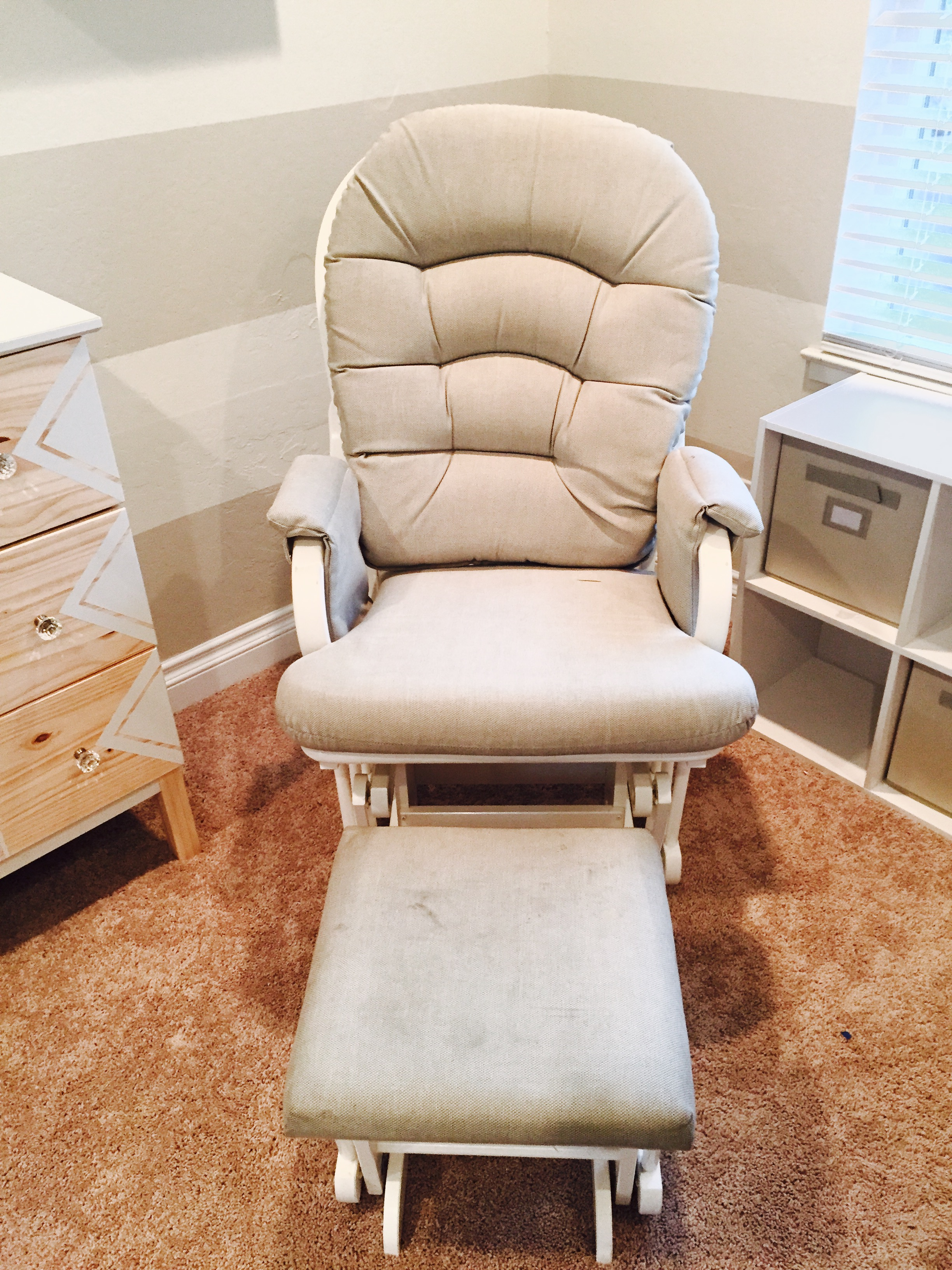 Craigslist DEALS DIY Rocking Chair for your Baby s Room Miss