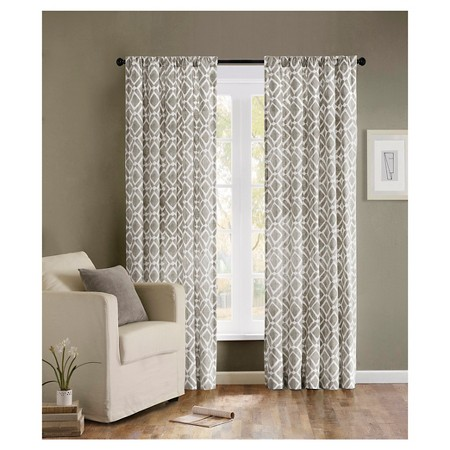 Picture #2 U2013 Leo Chevron Curtain Picture #3 U2013 Threshold Farrah Southwest  Curtain