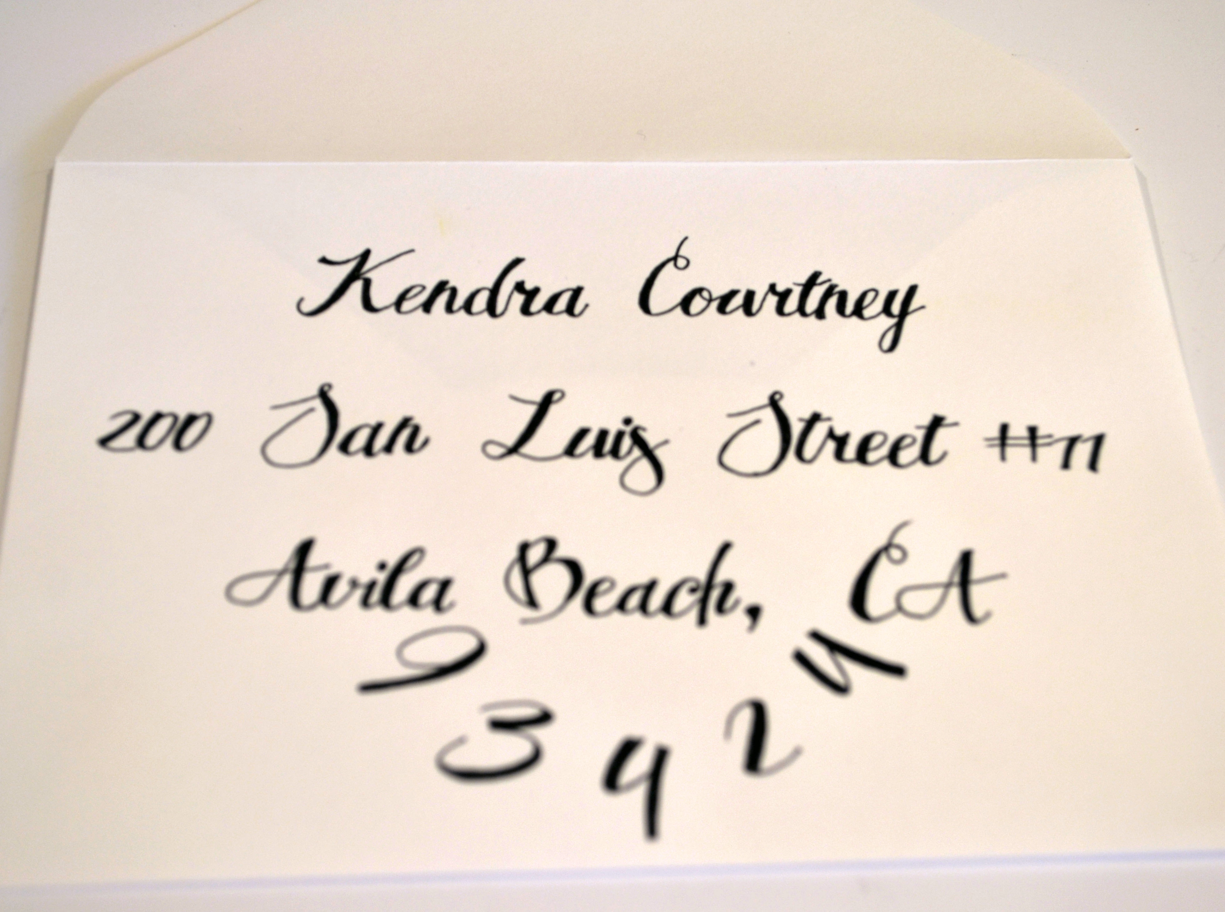 Easy Diy Calligraphy For Your Wedding Invitations Miss Bizi Bee
