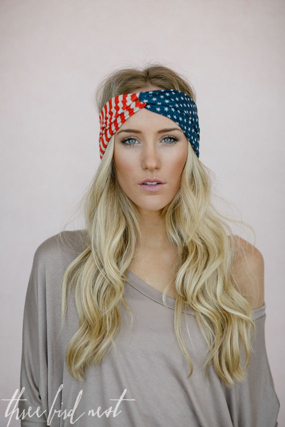 The Trendy Twisted Turban Headwrap   How to Make Headbands Yourself ... dd446634d6b