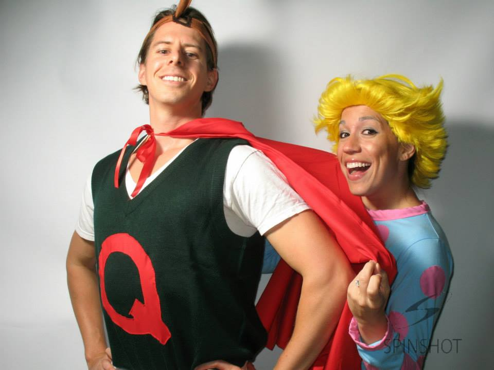 The Perfect Homemade Couples Costumes - Miss Bizi Bee Quailman And Patty Mayonnaise